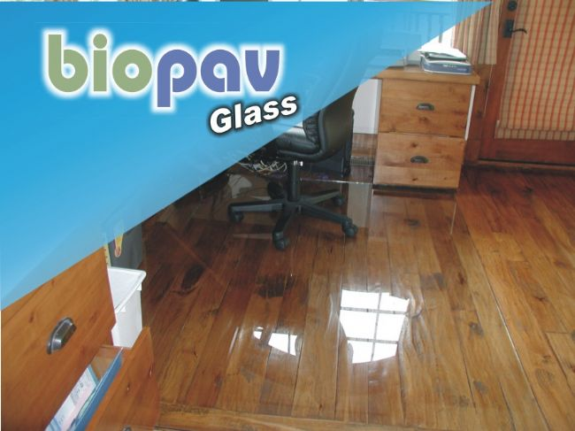 Pavimento in resina Biopav Glass